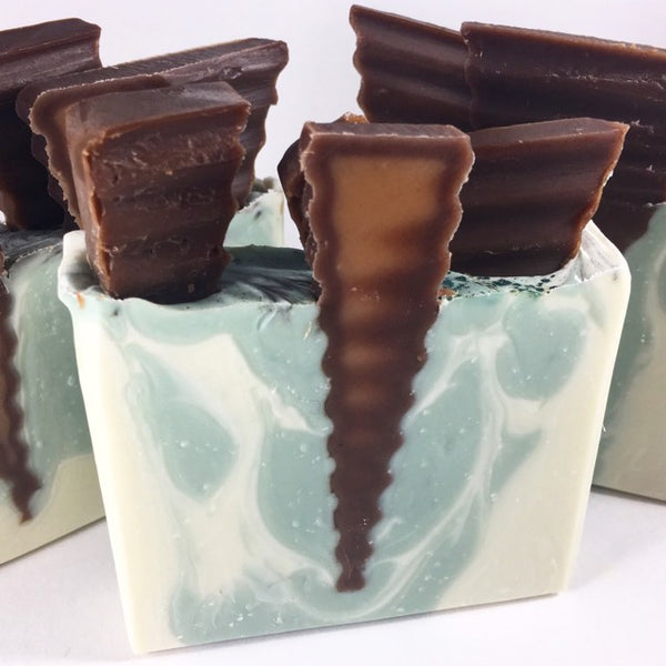 The Confectionery Bar Soap- Mint Chocolate