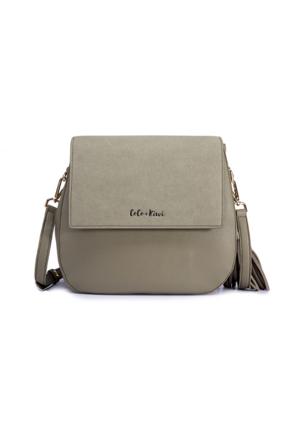 Coco and Kiwi Convertible Satchel /Olive/