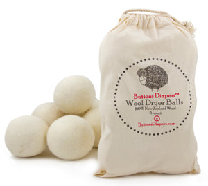 Buttons Wool Dryer Balls