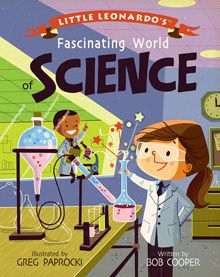 BabyLit Little Leonardo's Fascinating World of Science