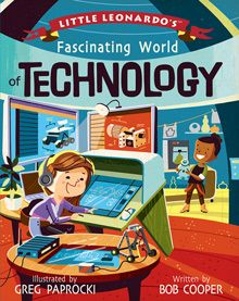 BabyLit Little Leonardo's Fascinating World of Technology