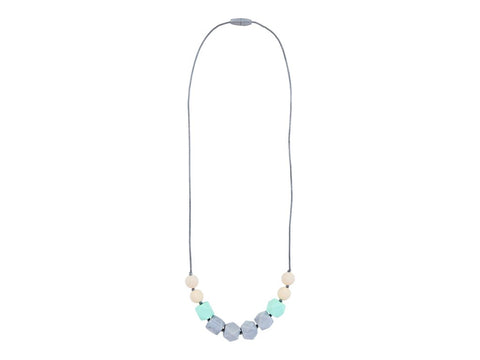 Itzy Ritzy Teething Happens Cube Necklace