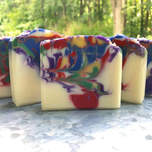 The Confectionery Bar Soap- Counting Rainbows Sweet Soap