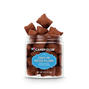 Candy Club Choco-PB Pretzel Pillows