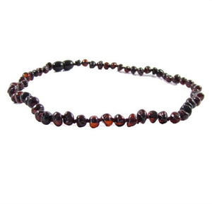 chestnut amber necklace