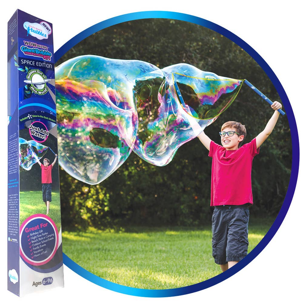 South Beach Bubbles - WOWmazing™ Space Edition Giant Bubble Kit