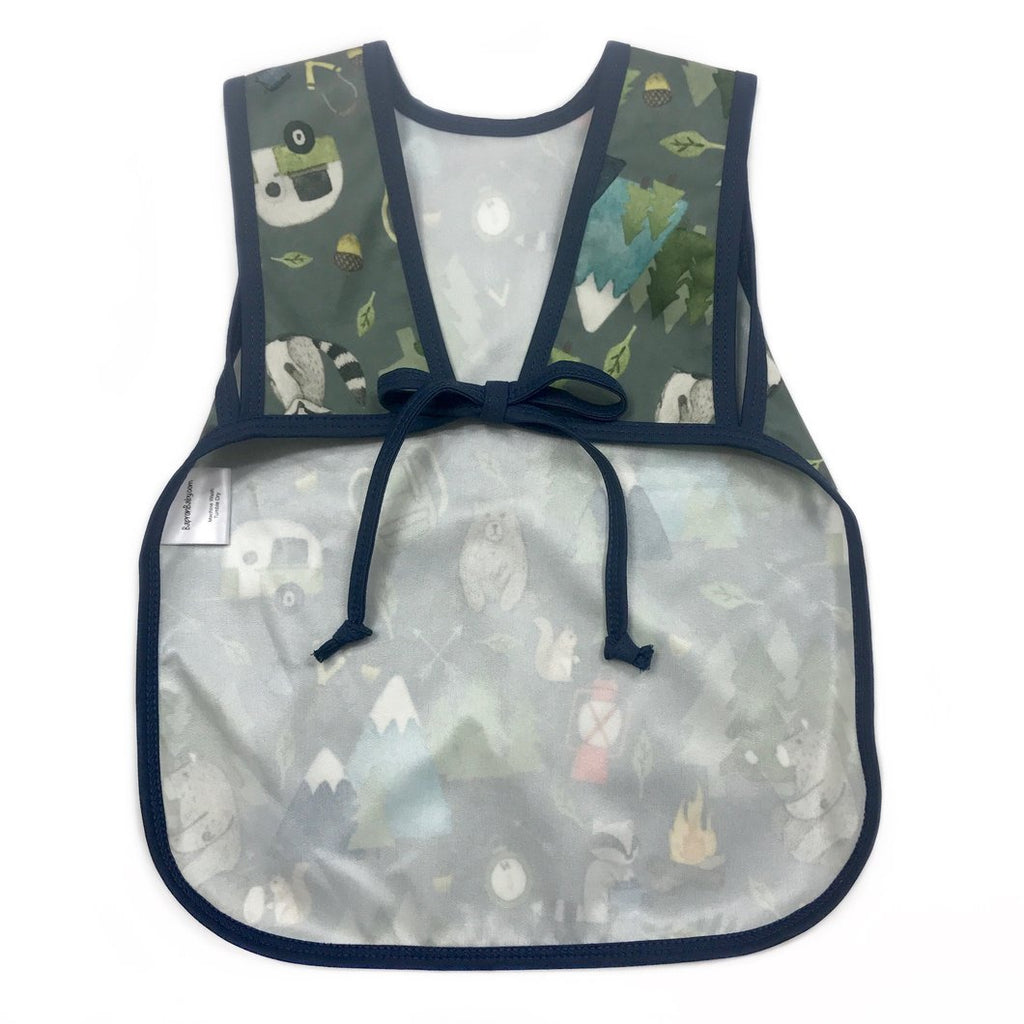 6de4f13df8a BapronBaby - Camping Bears Bapron – Water Lilies Boutique- For Baby ...