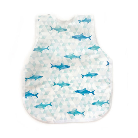 BapronBaby - Geometric Shark Toddler Bapron