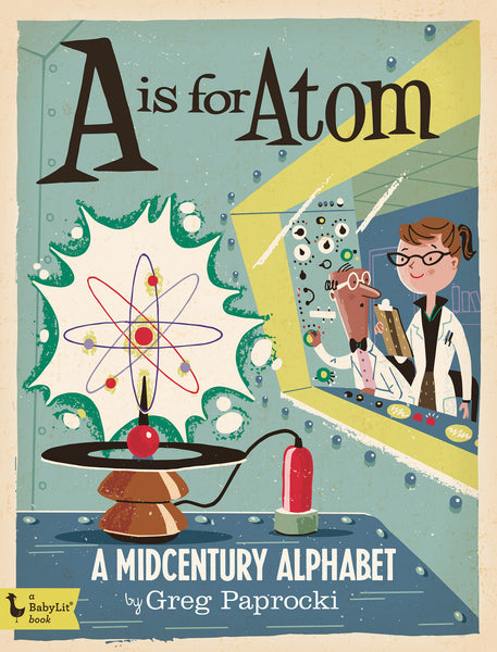 a is for atom cover