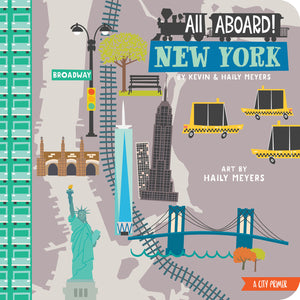 all aboard New York cover