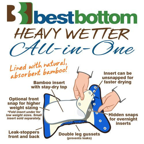Best Bottoms Heavy Wetter All-in-one