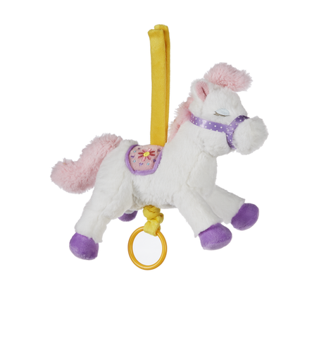 "Ganz 9.5"" Cute Carousel Pony Musical Pulldown"