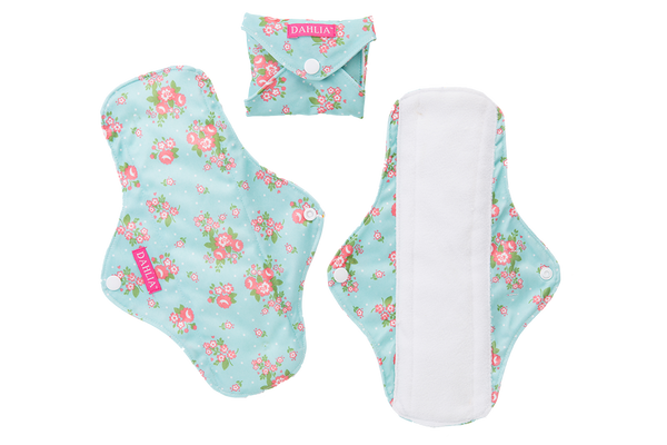Buttons Dahlia Cloth Feminine Pads