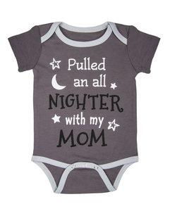 Ganz 0-6 M All Nighter Bodysuit