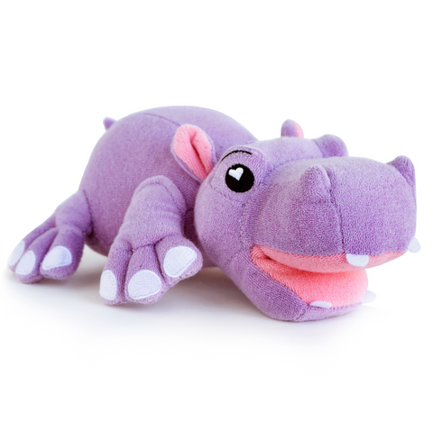 SoapSox Buddies- Harper the Hippo