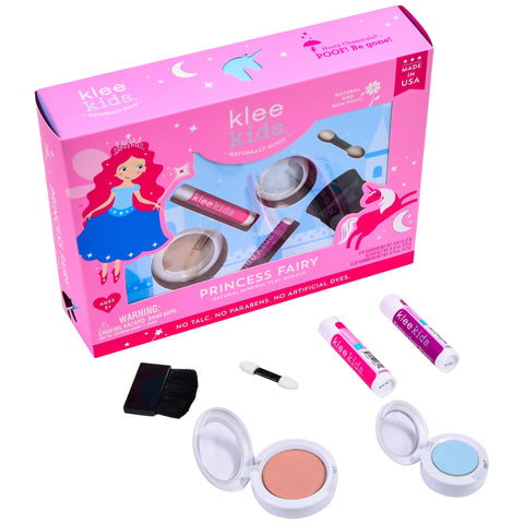 Klee Naturals Princess Fairy Natural Play Makeup 4-PC Kit