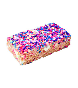 Treat House - Cotton Candy Rice Krispie Treat Bars