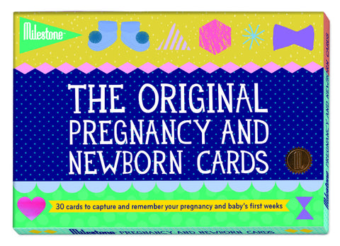 Milestone Pregnancy and Newborn Cards