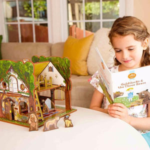 Storytime Toys  Goldilocks and the Three Bears Book and Play Set