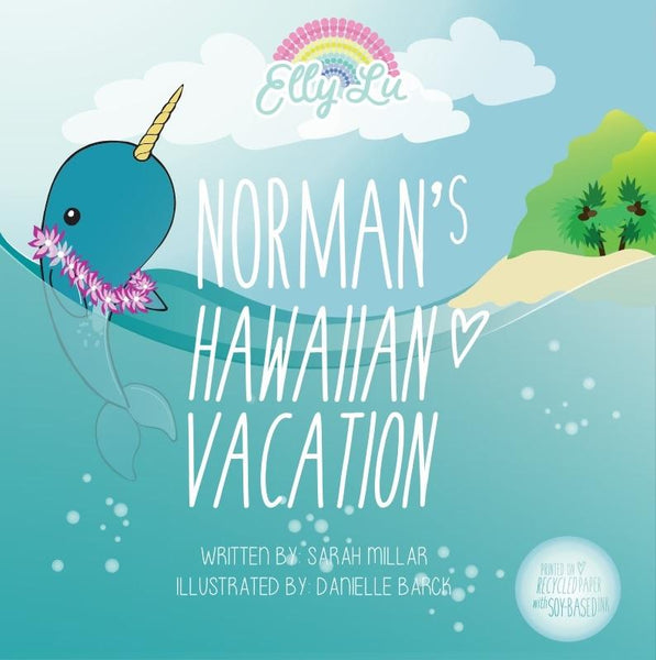Elly Lu Organic Norman's Hawaiian Vacation Book
