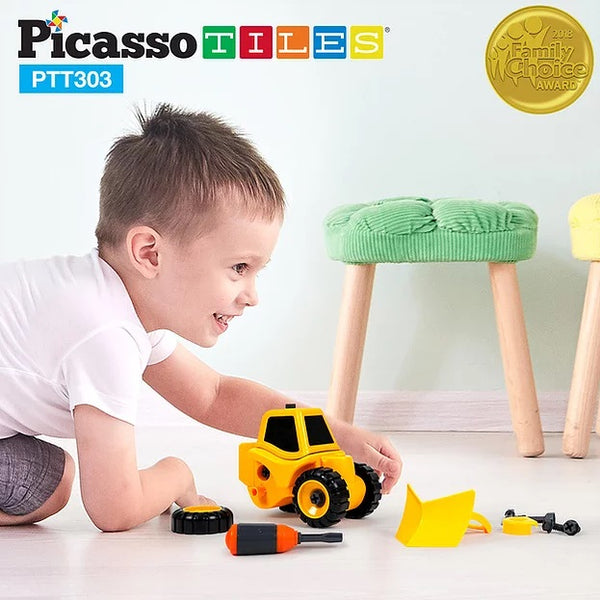 PicassoTiles 3 in 1 Take A Part Toy