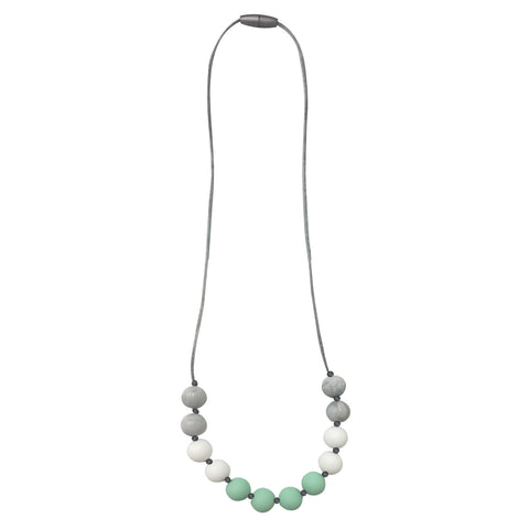 Itzy Ritzy - Mint Petite Strand Teething Necklace