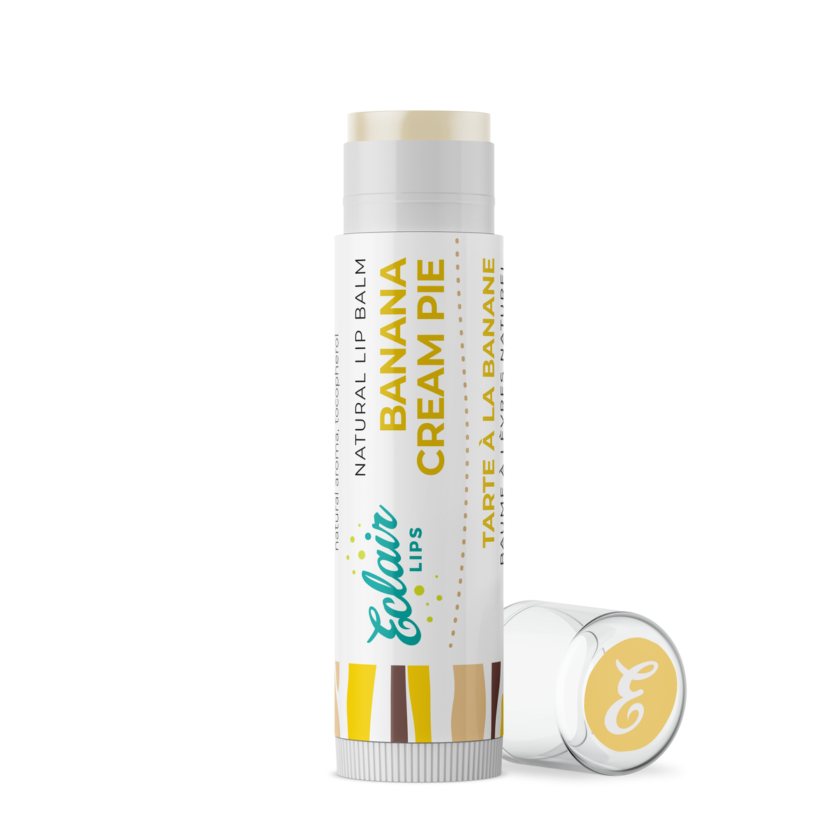 Eclair Lips - Natural Lip Balm - Banana Cream Pie