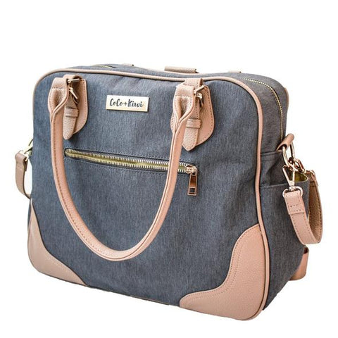 Coco and Kiwi Provence Bag /Midnight Blue/