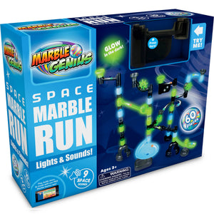 Marble Genius  Space Lights and Sounds Marble Run
