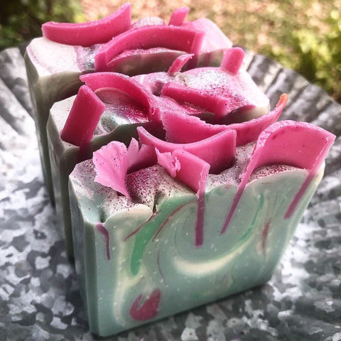 The Confectionery Bar Soap- Cucumber Melon