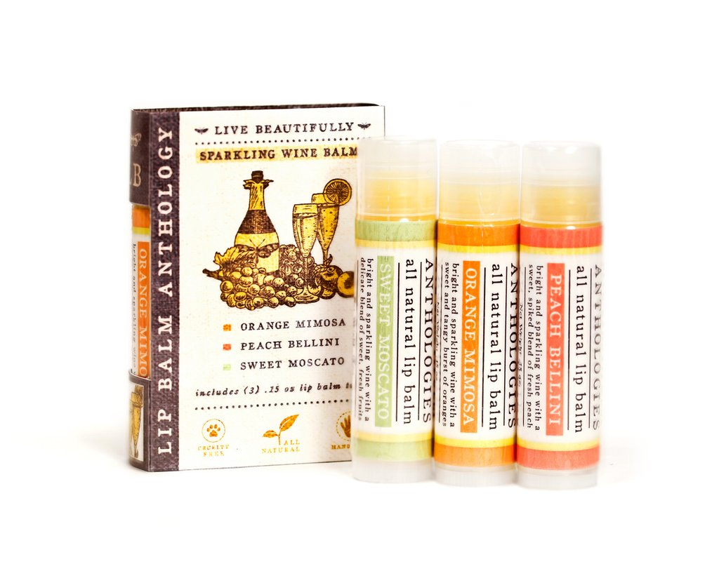 Live Beautifully Anthology Lip Balm Sets