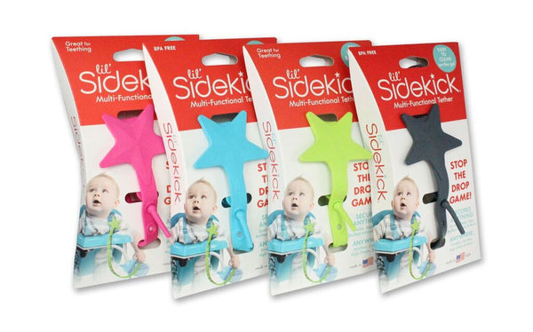 Lil' Sidekick Silicone Tether Straps