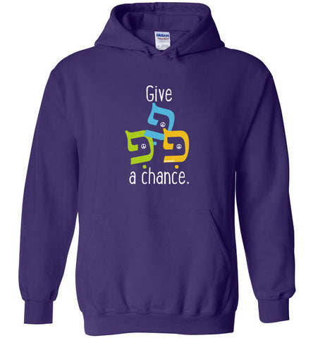 Give Peace A Chance - hoodie