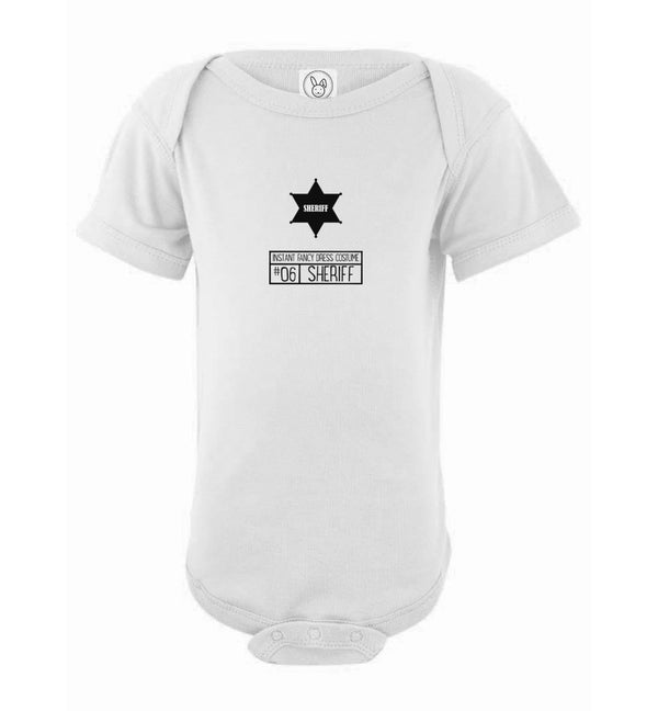 Baby Purim Sheriff Costume