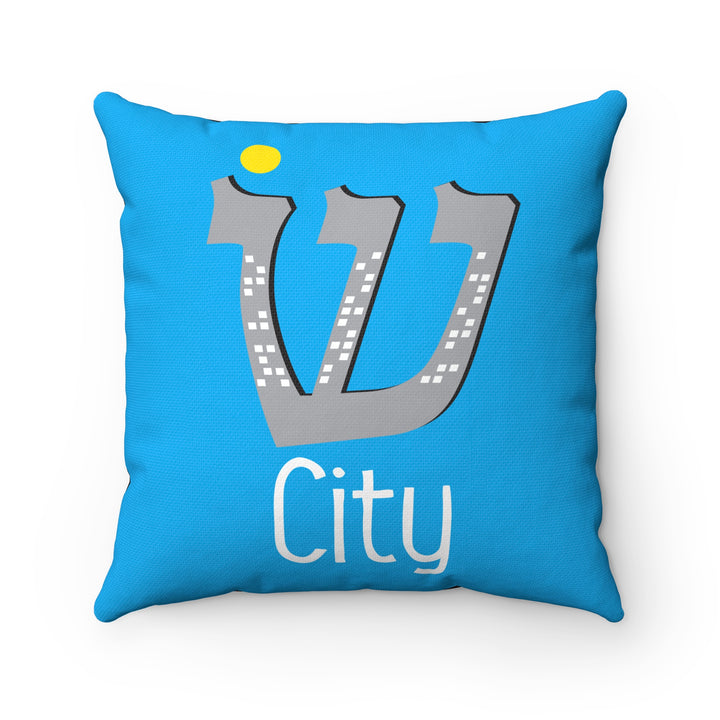 Sin City Square Pillow