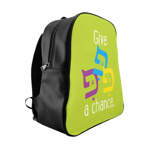 Give Peace… School Backpack