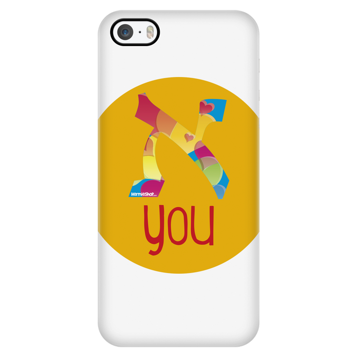 Aleph You - iPhone case