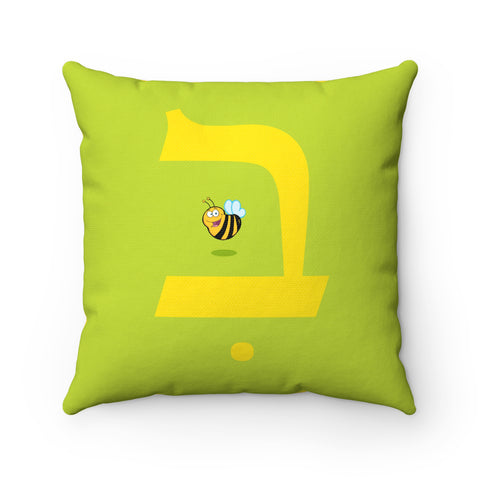 Bee Square Pillow