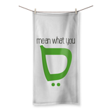 Mean What You Say Kite Beach Towel