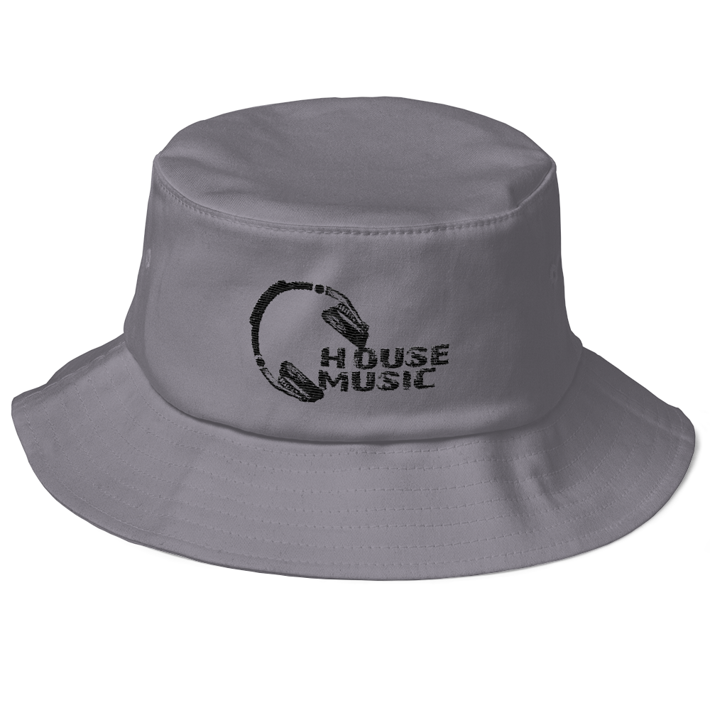 HOUSE MUSIC LIDS Old School Bucket Hat – PHIP CLOTHING a2398327b8e
