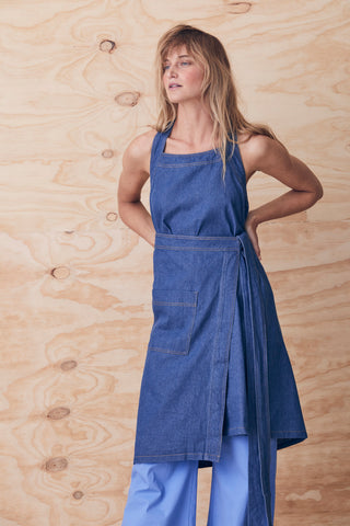 Apron Wrap Dress