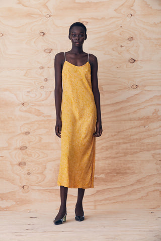 Moss Bias Cut Slip Dress