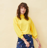 Yellow Mary Quant Knit Jumper