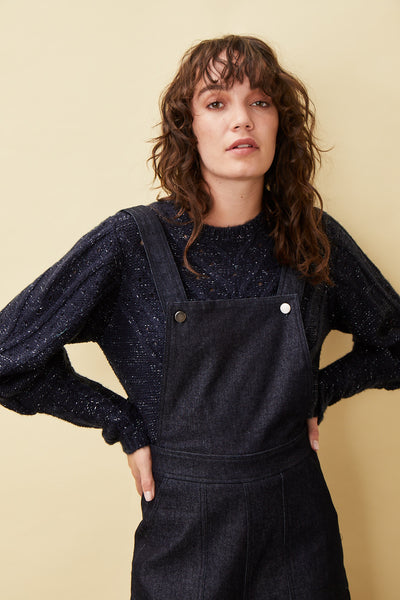 Puff Metallic Jumper