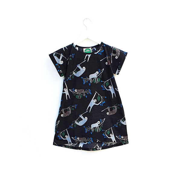 Little Leonard St Tee Shirt Dress - Sloth
