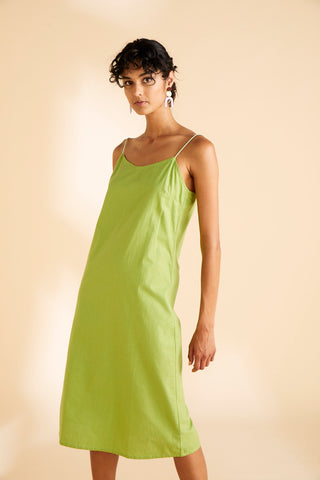Ms Moss Dress Lime