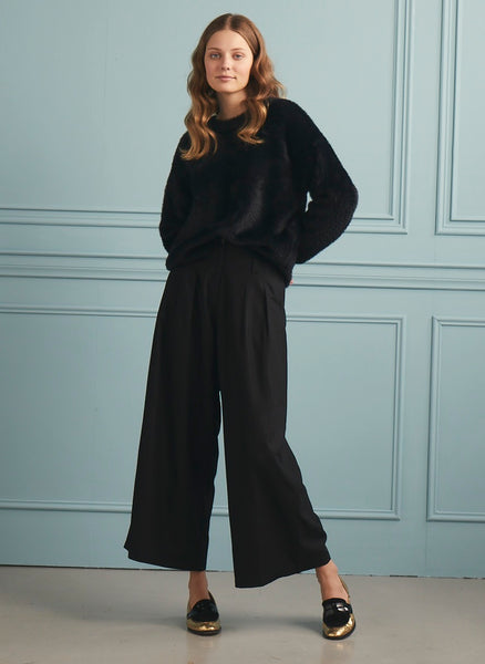 Soft Wide Pant Black