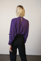 Luxe Batwing Top