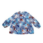 Retro Floral Tunic Top