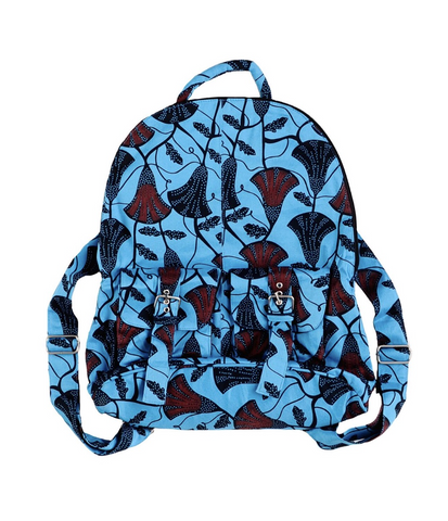 Print Canvas Back Pack